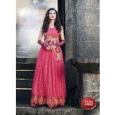 designer-classic-royal-pink-colour-gown