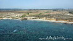 A Terceira Dimensão - Fotografia Aérea: Praia do Burrinho