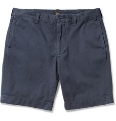 J.Crew Stanton Cotton-Twill Shorts $65 | MR PORTER