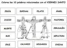 Parroquia La Inmaculada: Fichas Semana Santa