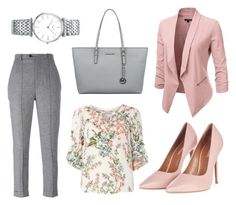 """Perfect for business woman!"" by karppila-julia on Polyvore featuring Isabel Marant, Billie & Blossom, Topshop, Michael Kors and Longines"