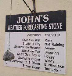 john's forecasting stone
