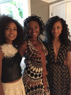 Me, Esperanza Spalding and Lizz Wright at the event for Wayne Shorter #always