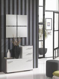 Joli meuble d\'entrée au design original | Meuble d\'entrée ...