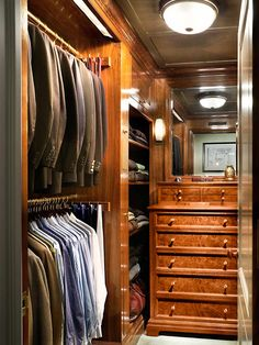 Organized closet ~ John B. Murray Architect: Recent Work