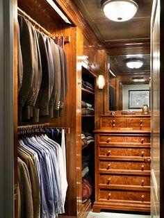 Organized closet ~ John B. Murray Architect: Recent Work