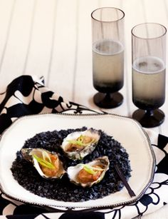recipe: champagne tempura oysters with wasabi dressing Fish Recipes, Seafood Recipes, Asian Recipes, Ethnic Recipes, Oyster Recipes, Palm Sugar, Deep Frying, Tempura, Fish Sauce