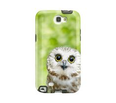 Cute Owl Samsung Galaxy case Galaxy Note 2 by semisweetstudios