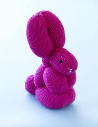 balloon animal pictures - Google Search  Free knitting pattern L0014 Bunny Balloon Animal @ www.lionbrand.com