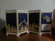 Stampin Up Christmas Nativity card kit Screen divider.
