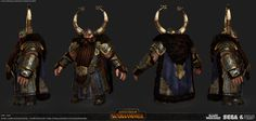 ArtStation - Total War Warhammer Art Dump, camille delmeule