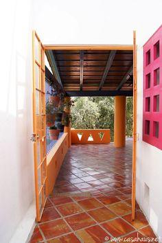pasillo exterior | Casa Haus