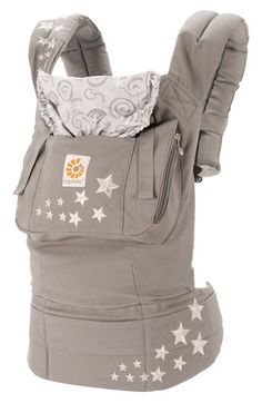 ERGObaby Baby Carrier available at Nordstrom..will need to some day talk to my cousin about this.