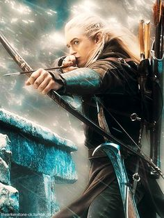 Legolas: so much more than just a handsome elf.