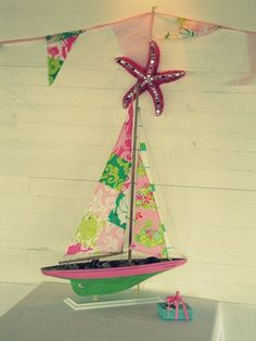 lilly pulitzer sailboat