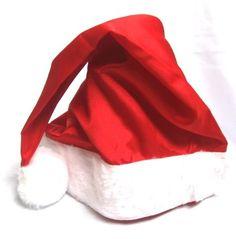 Como Fazer Gorro de Papai Noel de TNT