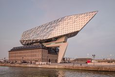 Gallery of Zaha Hadid Architects' Antwerp Port House Photographed by Laurian Ghinitoiu - 24
