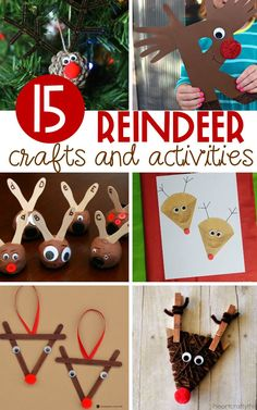 Take the magic of reindeer into the classroom with these fun reindeer crafts and reindeer activities for kids that are as educational as they are fun. #kidschristmas #KidsCrafts #kindergarten #teachersfollowteachers