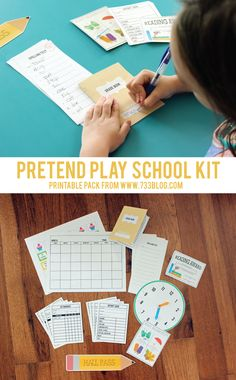 Pretend Play Printab