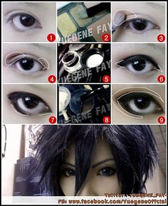 Basic Cosplay Make Up - pretty general, but I want to try this sometime =)