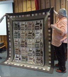 I will make one old school house quilt someday soon, I have patterns