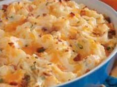 Loaded Mashed Potatoes Recipe - would trade the onions for garlic, but sounds amazing!