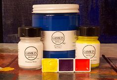 Color Chart and Composition of Colors - Gamblin Artists Colors Art Conservation, Composition, Stabil, Chart, Colors, Monitor, Artists, Note, Stripping Paint