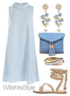 """""""THE BLUES"""" by wiltshirestyle on Polyvore featuring Urban Expressions"""