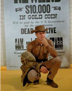 The premiere of Steve McQueen's 'Wanted Dead or Alive,' featuring Michael Landon Hollywood Stars, Old Hollywood, Bullitt Movie, Cowboy Films, Steeve Mcqueen, Michael Landon, The Virginian, Western Film, Tv Westerns
