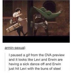 Levi Erwin dance off