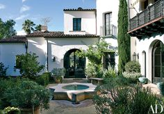 Madeline Stuart brings age-old grace to a brand new Spanish Colonial home in Los Angeles