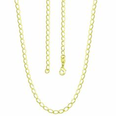 cbbcd87878e Corrente losango masculina (curta - 44 cm) folheada a ouro
