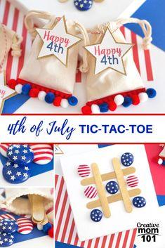 4th of July Tic-Tac-