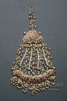 Kundan Jadai Jhoomar   Tibarumal Jewels   Jewellers of Gems, Pearls, Diamonds, and Precious Stones