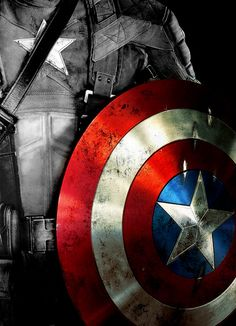 Captain America's Shield. A very fine specimen made by the one the only the Howard Stark. This shield is made of an indestructible metal,and was originally a prototype. The colors represent the American flag, and nothing can break it. Except maybe the winter solider'a arm. Not even Thor's hammer has broken this. It is a fine specimen that will last through the ages. At least that is what we hope.