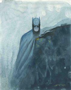 Batman by Esad Ribic Frm Ember Dark's bd: Batman