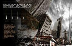 Monument to Civilzation Vertical Landfill 4