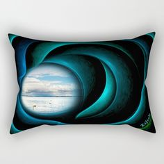 Buy Everything is quiet in the eye of the storm Rectangular Pillow by Giada Rossi. Worldwide shipping available at Society6.com. Just one of millions of high quality products available.