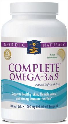 #Complete #Omega 3.6.9. - Lemon by Nordic #Naturals   really love it!   http://amzn.to/IyUQjV