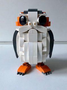 Custom LEGO Porg MOC by Tron of Black from Eurobricks