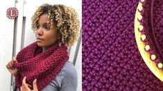 Loom Knitting Cowl Scarf - The Purl In Oversized Cowl ; loom knitting cowl scarf - der purl in oversized cowl ; loom knitting cowl scarf - le purl dans un surdimensionné ; bufanda de tejer con capucha y capucha - the purl in oversized cowl Round Loom Knitting, Loom Scarf, Loom Knitting Stitches, Loom Knit Hat, Loom Knitting Projects, Knit Cowl, Easy Knitting, Knitting For Beginners, Diy Scarf