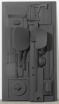 Untitled - 1976-1978 - Louise Nevelson - http://www.louisenevelsonfoundation.org/