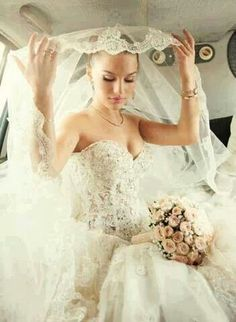 Amazing lace and peek a boo bodice