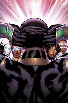 Mighty Avengers #9 by Greg Land