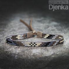 Bransoletka etniczna - beading - Tolna - Djenka