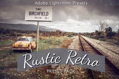 Rustic Retro : Lightroom Presets Pack by LoveLightroomPresets on Etsy