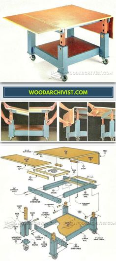 Woodworking Assembly Table Plans - Furniture Assembly Tips, Jigs and Techniques | WoodArchivist.com