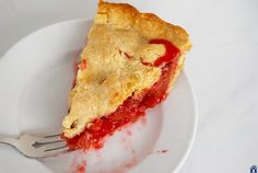 Strawberry Rhubarb Pie Recipe on Yummly. @yummly #recipe