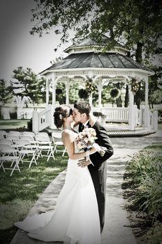 Swan Lake Resort - Venue - Plymouth, IN - WeddingWire Wedding Poses, Wedding Ceremony, Wedding Gazebo, Wedding Dresses, Wedding Ideas, Wedding Stuff, Reception, Gazebo Decorations, Lake Resort
