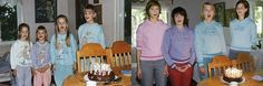 Four Sisters Lovingly Recreate Their Childhood Photographs